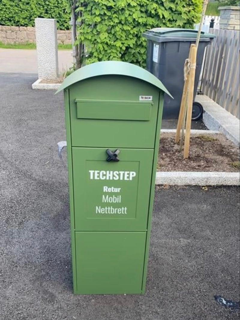 «Inn i boksen» med Techstep på verdens miljødag